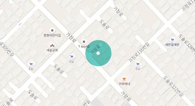 웹스리퍼블릭 지도입니다.